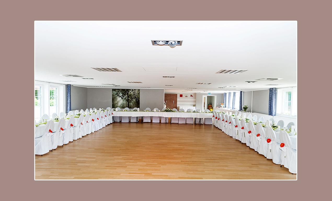 Schöner Hochzeitsaal bei Berlin