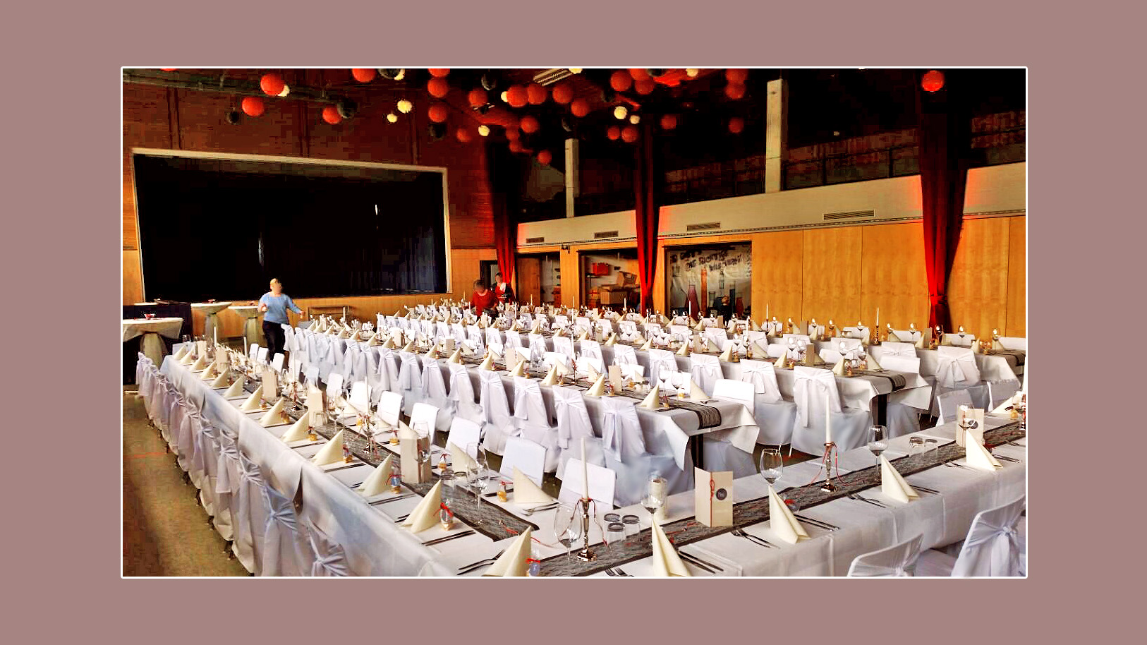 Hochzeitshalle, Saal, Festhalle Haagwaldhalle in Weilheim Remetschwiel