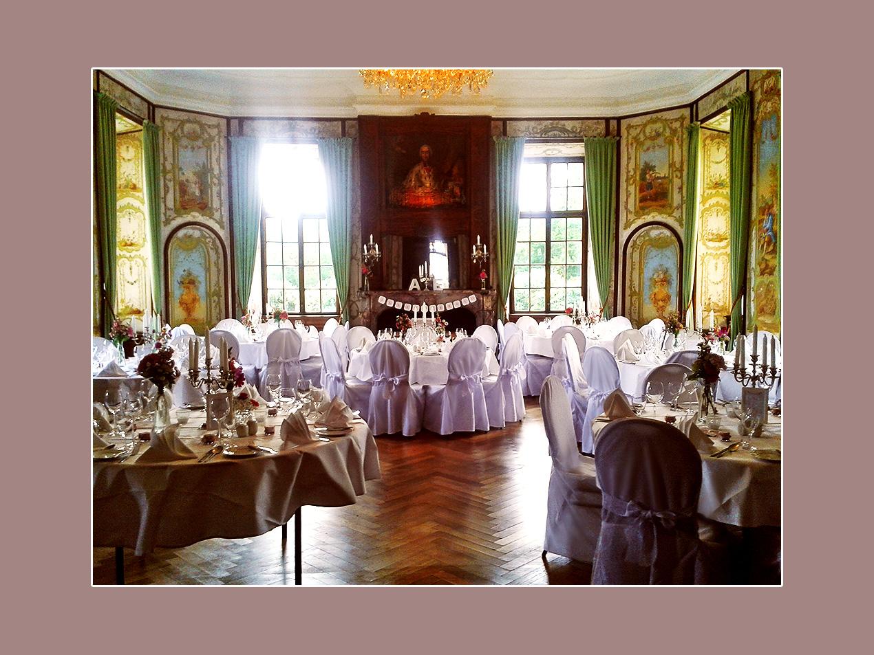 Hochzeit feiern Schloss Miel bei Bonn, Euskirchen, Erfstadt